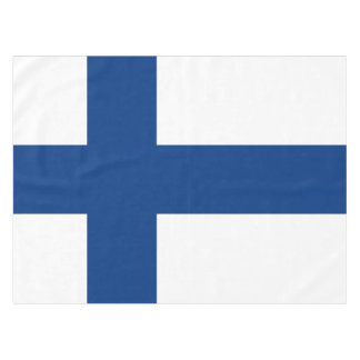 Flag of Finland Blue Cross Flag Tablecloth