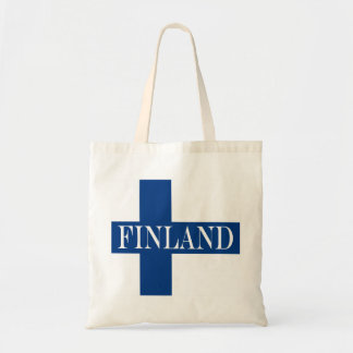Flag of Finland Blue Cross Suomi Tote Bag