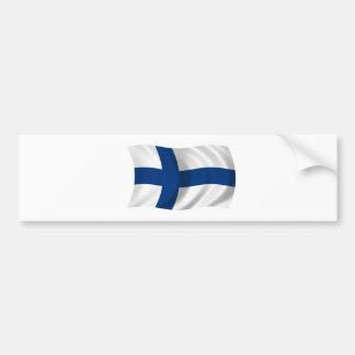 Flag of Finland Bumper Sticker