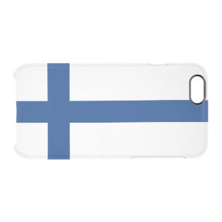 Flag of Finland Clear iPhone Case
