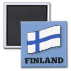 Flag of Finland custom design Magnet