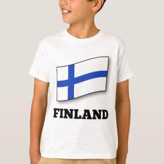 Flag of Finland design T-Shirt