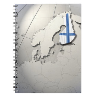 Flag of Finland Notebooks