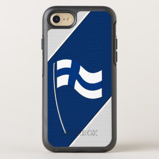 Flag of Finland OtterBox Symmetry iPhone 7 Case