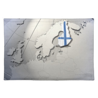 Flag of Finland Placemat