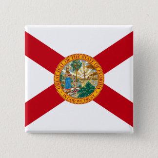 Flag of Florida 15 Cm Square Badge