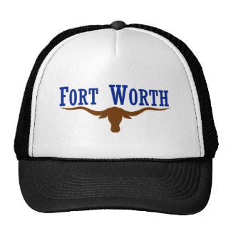 Flag of Fort Worth Texas Cap