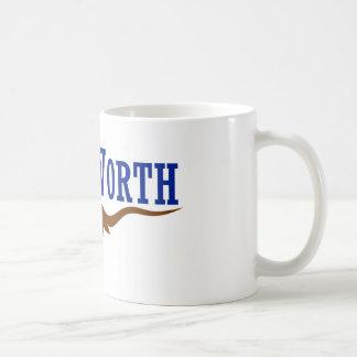 Flag of Fort Worth Texas Coffee Mugs