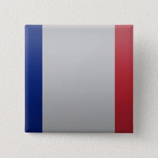 Flag of France 15 Cm Square Badge