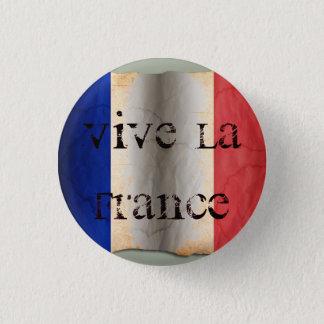 Flag of France 3 Cm Round Badge