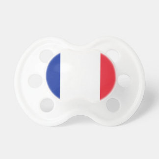 Flag of France Baby Pacifier
