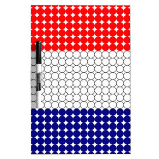 Flag of France Dry Erase Board