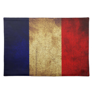 Flag of France Grunge Placemat