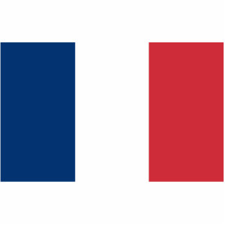 Flag of France Photo Cutouts