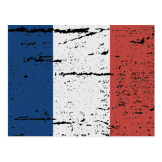 FLAG OF FRANCE POSTCARD