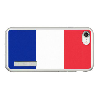 Flag of France Silver iPhone Case