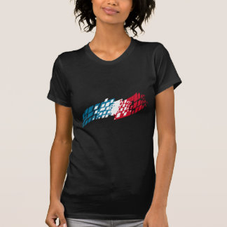 Flag of France style Tees