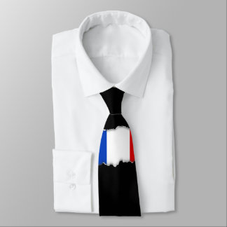 Flag of France Tie