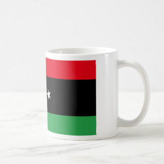 Flag of Free Libya Basic White Mug