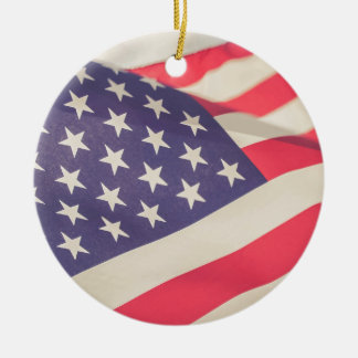 Flag of Freedom Christmas Ornament