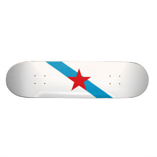 Flag of Galician Nationalism Skateboard Deck