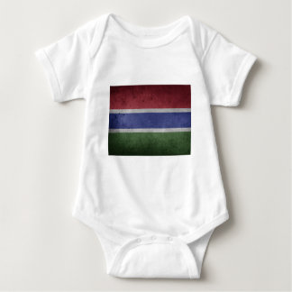 Flag of Gambia Baby Bodysuit