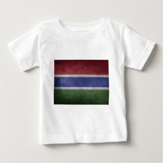 Flag of Gambia Baby T-Shirt