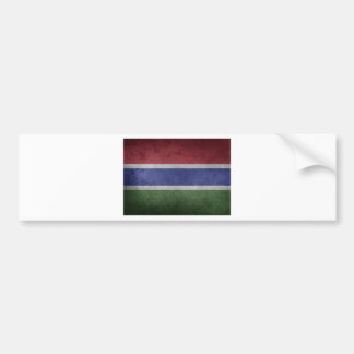 Flag of Gambia Bumper Sticker