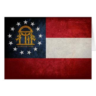 Flag of Georgia Greeting Cards