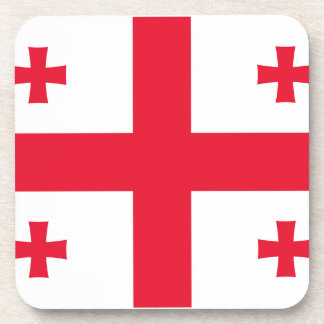 Flag of Georgia Beverage Coasters