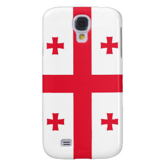 Flag of Georgia (Country) Galaxy S4 Case