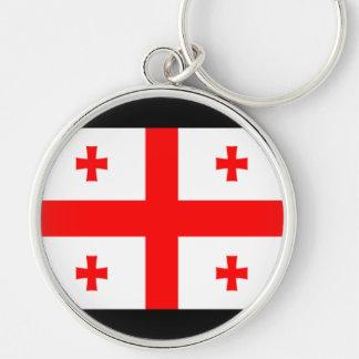 Flag of Georgia (country) Keychain