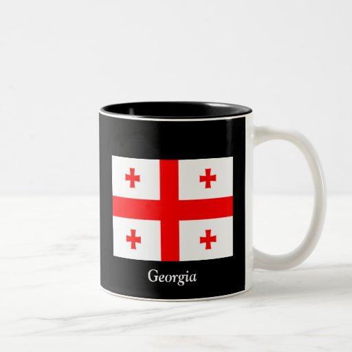 Flag of Georgia (country) Mugs