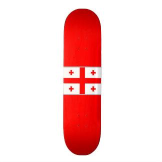 Flag of Georgia (country) Skateboard