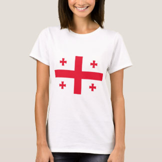 Flag of Georgia (Country) T-Shirt