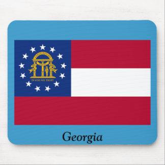 Flag of Georgia Mouse Pad
