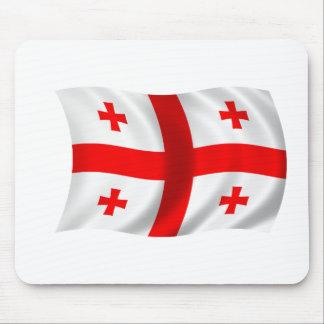 Flag of Georgia Mousepads