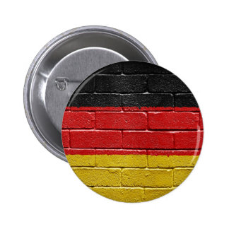 Flag of Germany 6 Cm Round Badge