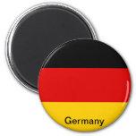 Flag of Germany 6 Cm Round Magnet