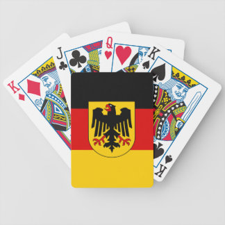 Flag of Germany - Bundesdienstflagge Bicycle Playing Cards
