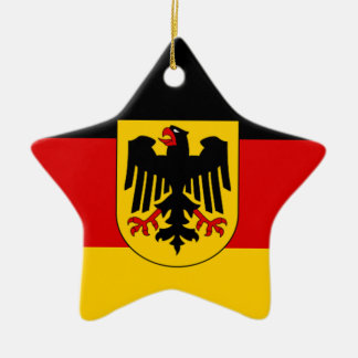Flag of Germany - Bundesdienstflagge Christmas Ornament