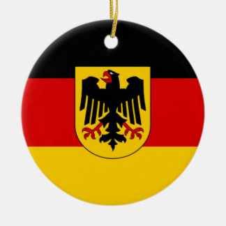 Flag of Germany - Bundesdienstflagge Christmas Ornament