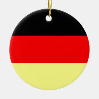 Flag of Germany Christmas Ornament