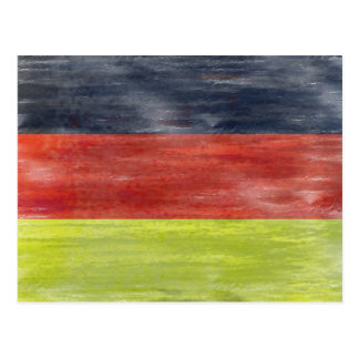 Flag of Germany - German Flag Postcard