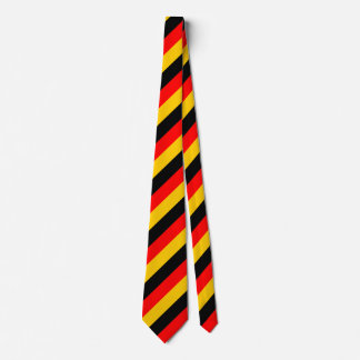 Flag of Germany Inspired Colored Stripes Pattern Tie