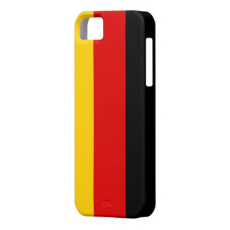 Flag of Germany iPhone 5 Case-Mate Barely There™ Case For The iPhone 5