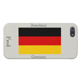 Flag of Germany iPhone 5 Covers