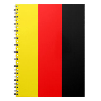Flag of Germany Note Book