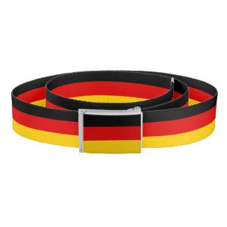 Flag of Germany or Deutschland Belt