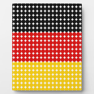 Flag of Germany Photo Plaques